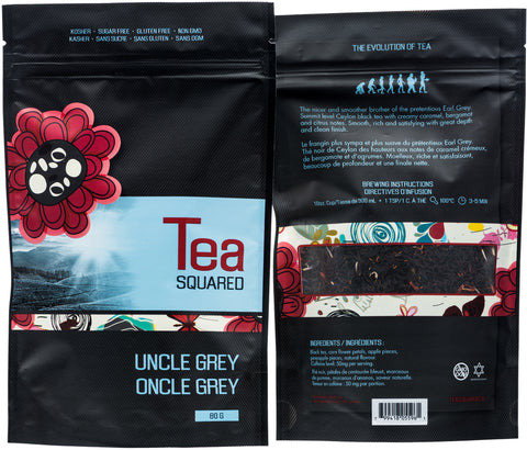 Tea squared 'Uncle Grey' loose leaf tea