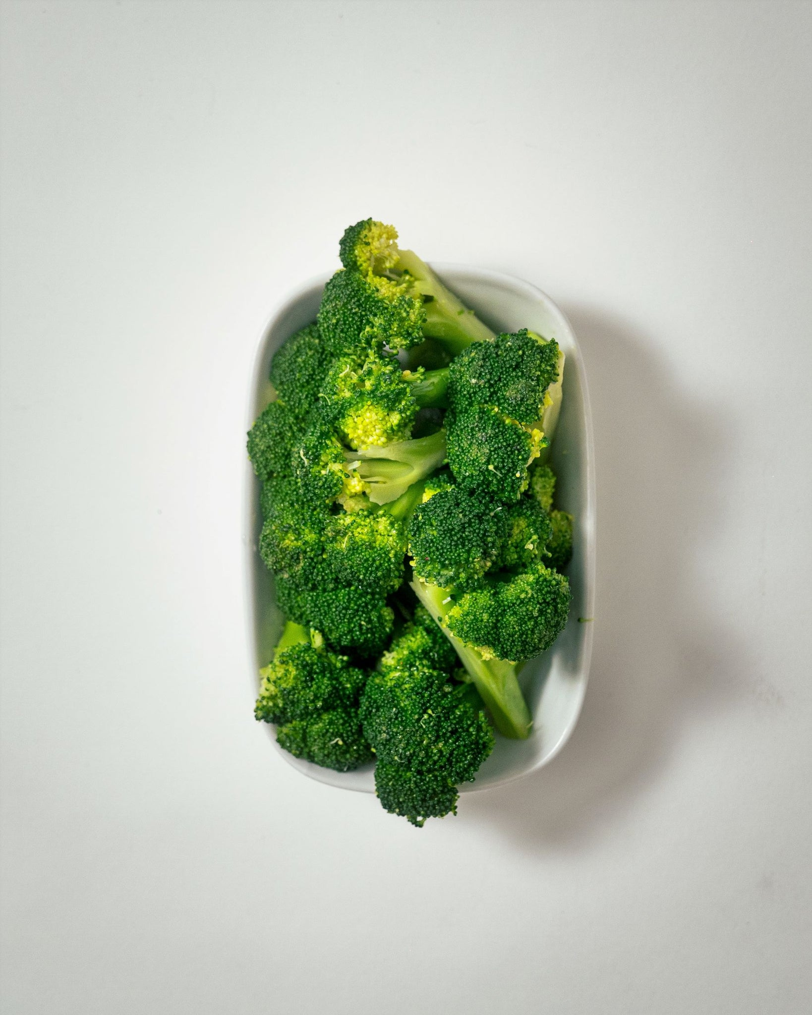 broccoli florets with sea salt and olive oil (2 size options)