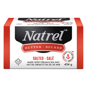 natrel butter (1 lb, salted or unsalted)
