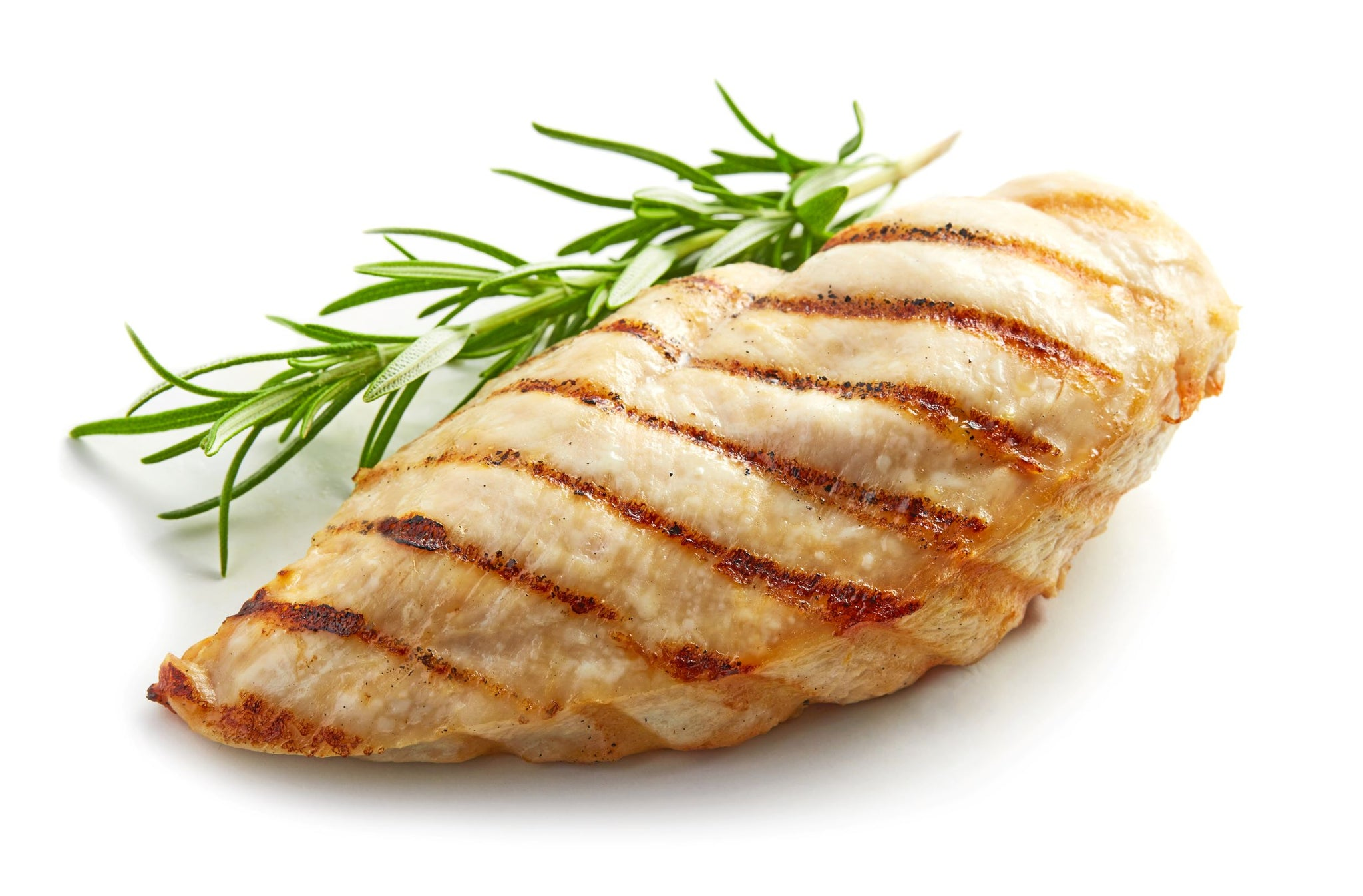 grilled chicken breast (per portion, 1 breast)