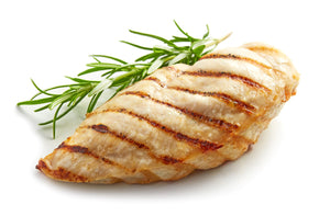 grilled boneless skinless chicken breast - lemon rosemary (per portion, 1 breast)