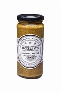 kozlik's mustard - amazing maple (250ml)