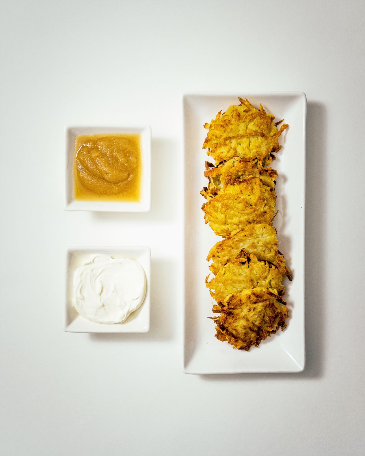 yukon gold potato latkes (per piece)