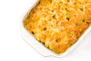 mac 'n' cheese with panko and herbed parm topping (2 size options)