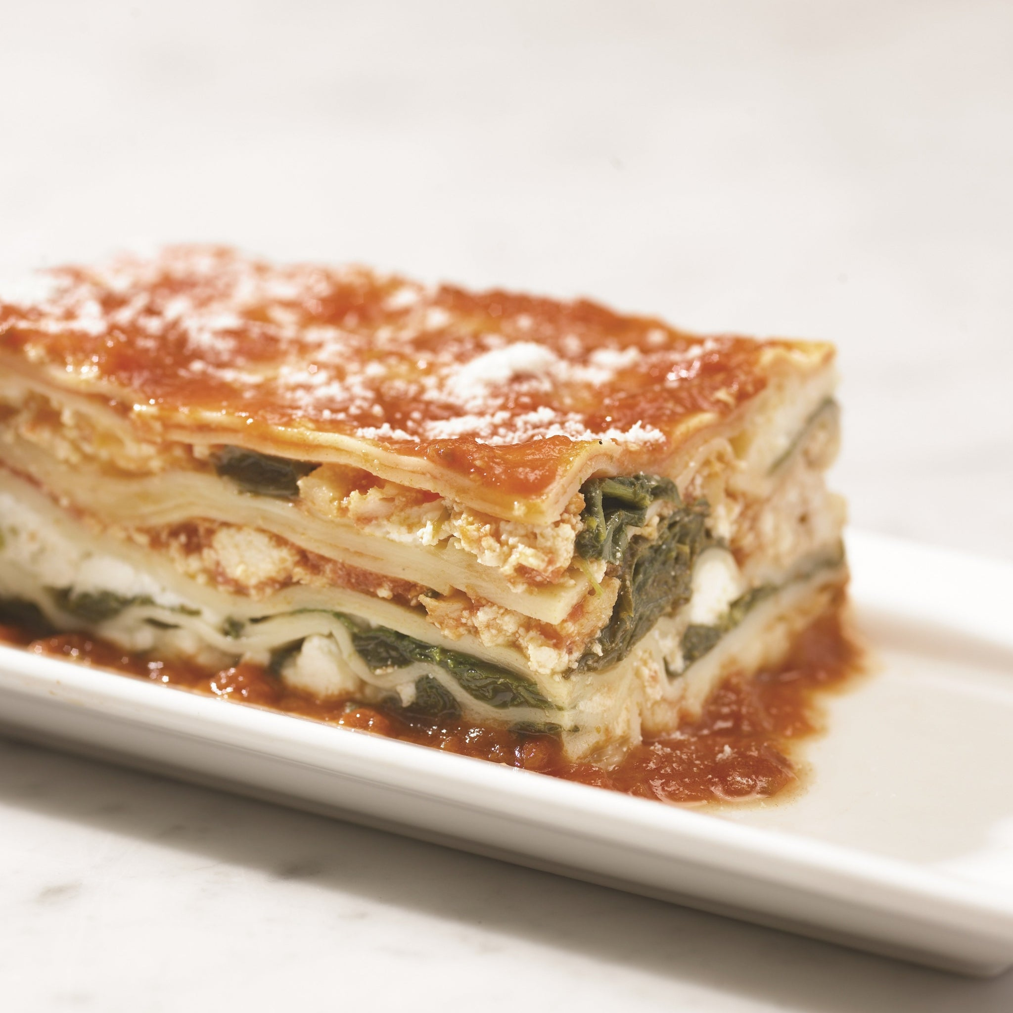 spinach & ricotta lasagna (2 size options)