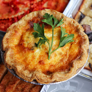 quiche, individual (5 flavour options to select from)