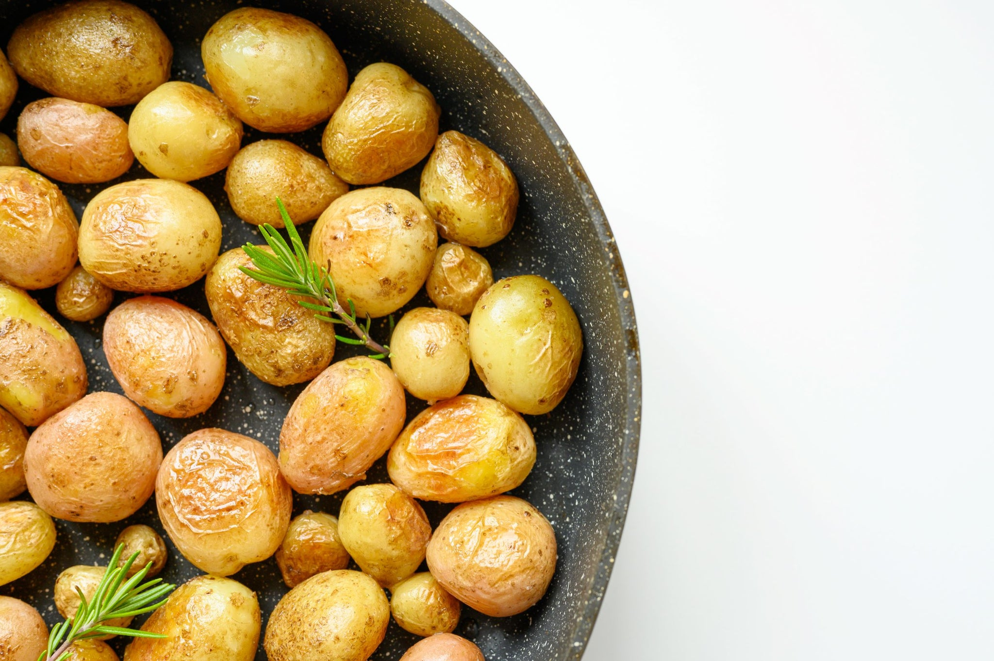 roasted baby potatoes with rosemary, sea salt (2 size options)