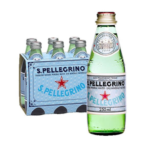 San pellegrino – small bottles (6 pack)