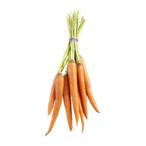 stem on carrots