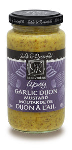 Tipsy Garlic Dijon Mustard (Sable & Rosenfeld, 250ml)