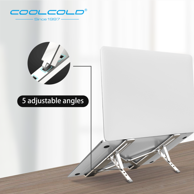 Adjustable Aluminium Laptop Stand - HQ Essentials