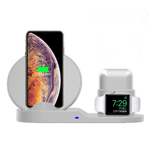 3 in 1 Fast Wireless Charger Dock Station - HQ Essentials