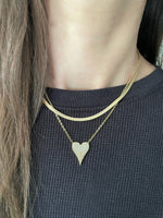 Load image into Gallery viewer, 18k Gold Filled Be Loved Heart Necklace