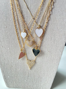 18k Gold Filled Be Loved Heart Necklace