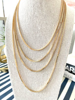 Load image into Gallery viewer, Box Chain Necklace, Gold