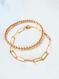 Chain Link Bracelet, Large Oval Chain Link