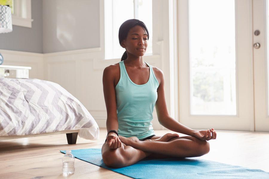 How to Create Your Own Home Yoga Practice Space