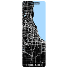Load image into Gallery viewer, Chicago Map Yoga Mat