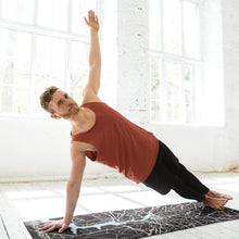 Load image into Gallery viewer, Man with Custom Washington DC Yoga Mat