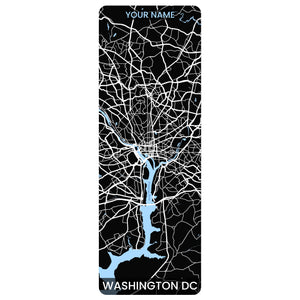 DC Map Yoga Mat