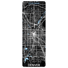 Load image into Gallery viewer, Denver Map Yoga Mat
