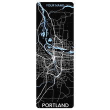 Load image into Gallery viewer, Portland Map Yoga Mat