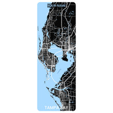 Load image into Gallery viewer, Tampa Bay Map Yoga Mat