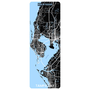 Tampa Bay Map Yoga Mat