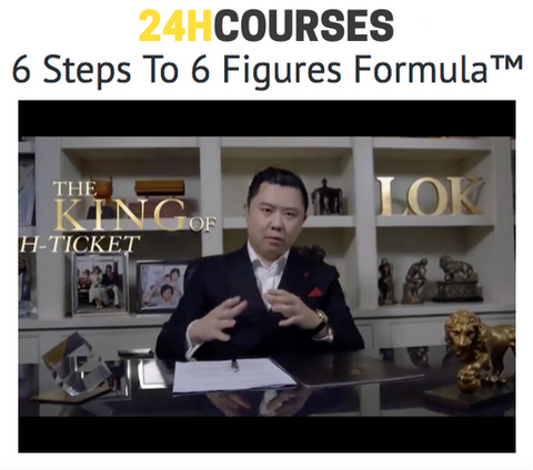 ⚡️ Dan Lok – 6 Steps To Six Figures Formula ⚡️