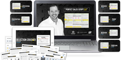 AARON N. FLETCHER (LAUNCHMAPS) – PERFECT SALES SCRIPT 2.0