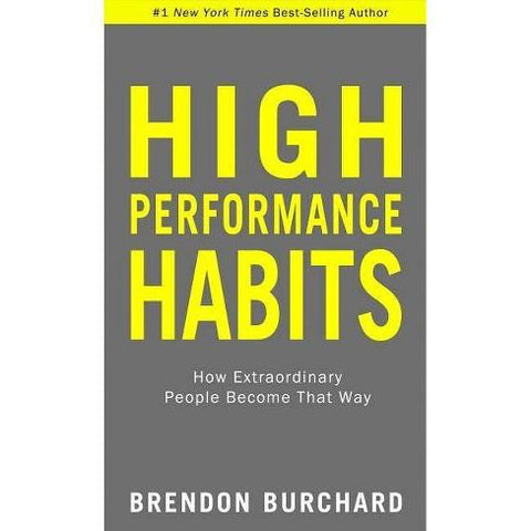 High Performance Habits by Brendon Burchard Hardcover Book NEW ⚡️