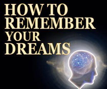 How to Remember Your Dreams – Anthony Metivier