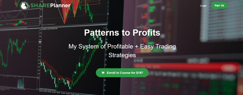 Patterns to Profits – Share Planner