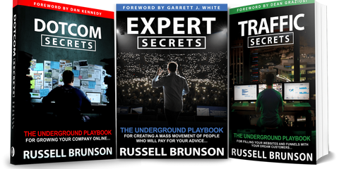 RUSSEL BRUNSON – THE SECRETS TRILOGY