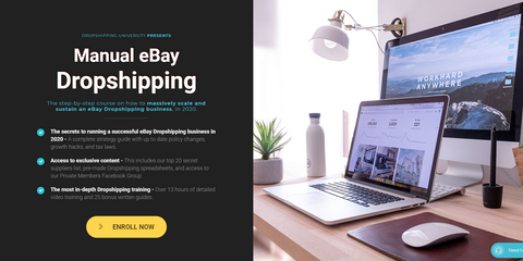 TOM CORMIER – MANUAL EBAY DROPSHIPPING