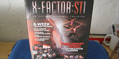 WEIDER – X-FACTOR ST 8 WEEK TRAINING PROGRAM