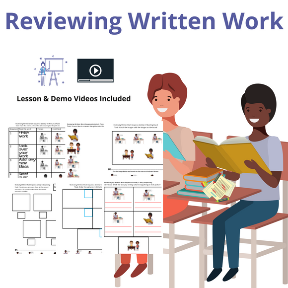 Reviewing Written Work with 8 Activities & 1 Video