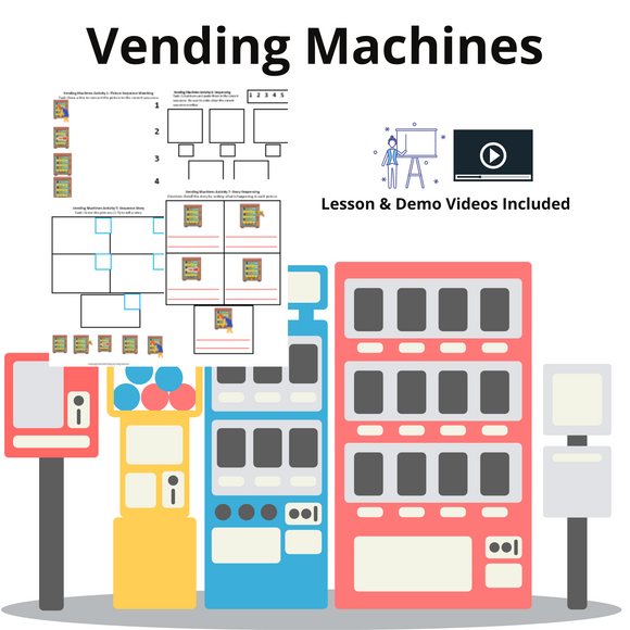 Vending Machines with 8 Activities & 1 Video