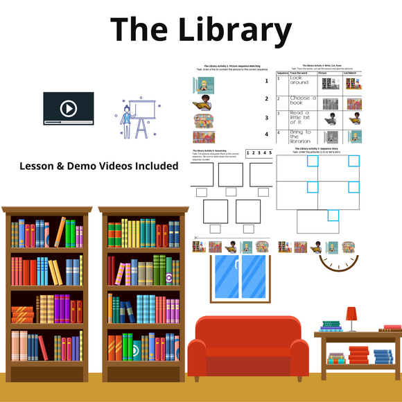 Library with 8 Activities and 1 Video