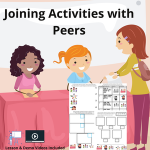 Joining Activities with Peers with 8 Activities & 1 Video