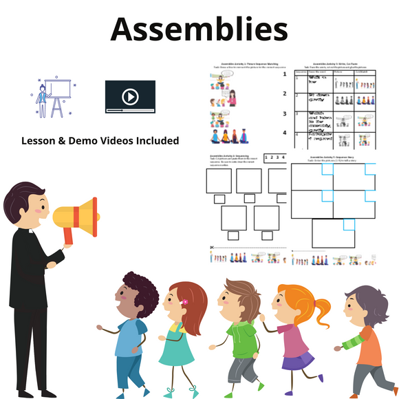 Assemblies with 8 Activities & 1 Video