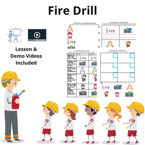 Fire Drill with 8 Activities & 1 Video