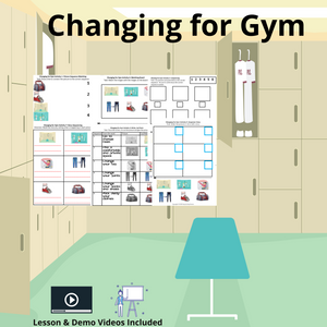 Changing for Gym with 8 Activities& 1 Video
