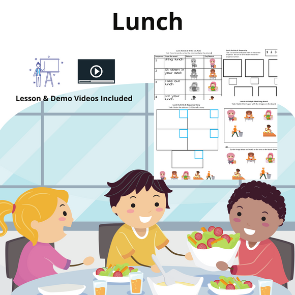 Lunch with 8 Activities with 1 Video