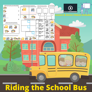 Riding the School Bus with 8 Activities & 1 Video