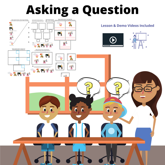 Asking a Question with 8 Activities & 1 Video