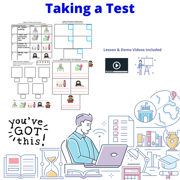 Taking a Test with 8 Activities & 1 Video