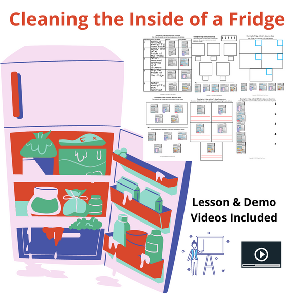 Cleaning the Fridge with 8 Activities & 2 Videos