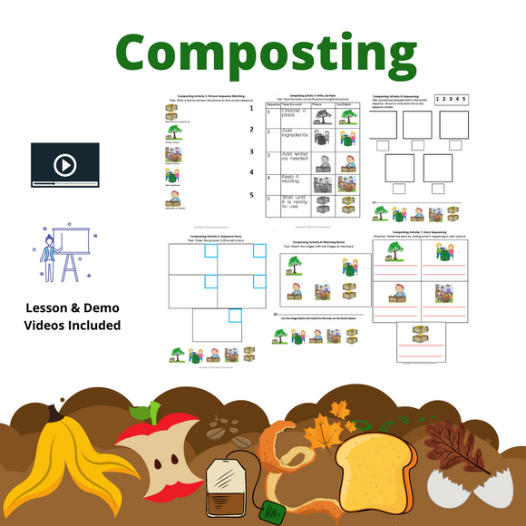 Composting with 8 Activities & 2 Videos