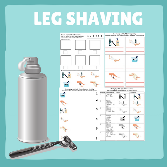 Shaving Your Legs with 8 Activities